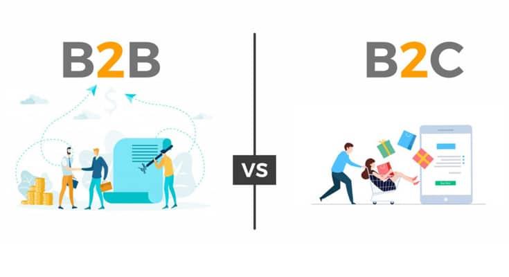 Ngành thương mại điện tử B2B và B2C khái niệm & sự khác biệt
